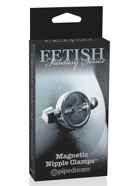 Limited Magnetic Nipple Clamps Par Fetish Fantasy
