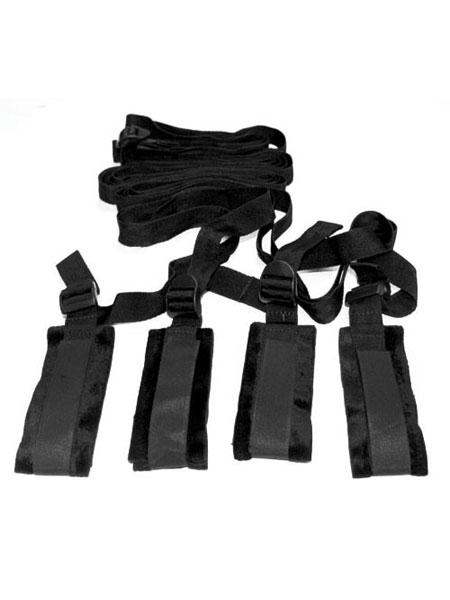 Bed Bondage Restraint Kit de Sex & Mischief