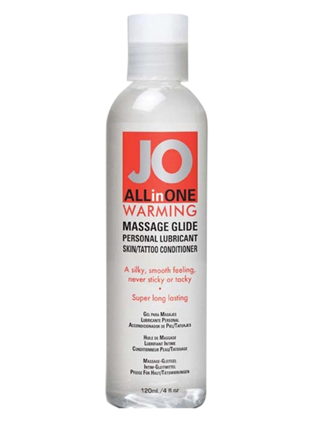 Jo Sensual Massage Chauffante 4on (120ml)